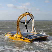 Oceanographic survey autonomous surface vehicle / for environmental measurements / for hydrographic surveys / mini catamaran