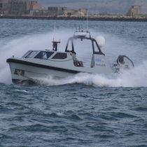 Patrol marine drone / autonomous / monohull