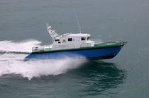 Inboard patrol boat / inboard waterjet