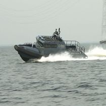 Inboard military boat / rigid hull inflatable boat