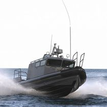 Inboard patrol boat / inboard waterjet / rigid hull inflatable boat