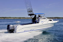 Outboard cabin cruiser / hard-top / sport-fishing / 7-person max.