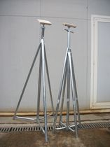 Sailboat boat stands / adjustable / galvanized