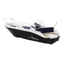 Center console monohull boat / side console / 4-person max. / sundeck
