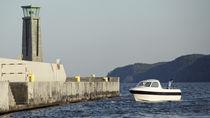Outboard center console boat / side console / sport-fishing / 7-person max.