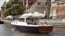 Inboard cabin cruiser / hard-top / classic / 10-person max.
