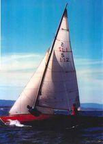 Classic sailboat sail