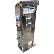 Electrical distribution pedestal / water supply / for docks / pre-payment system