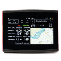 Heads-up instrument readout system for sailboat racing