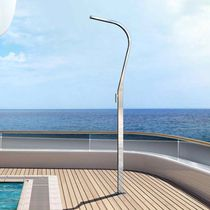 Boat deck shower / for yachts / stainless steel