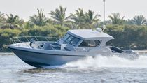 Outboard patrol boat