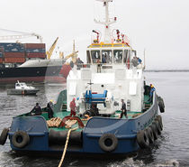 Tugboat winch / towing / hydraulic drive / electric drive