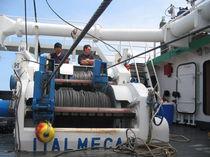 Fishing ship winch / purse seine / hydraulic drive / electric drive