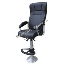 Helm seat / operator / for ships / with armrests