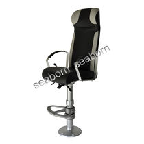 Operator seat / helm / for ships / with armrests