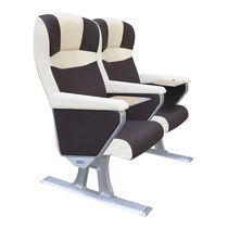 Passenger ship seat / with armrests / adjustable / 1-person