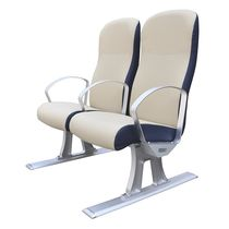 Passenger ship seat / with armrests / 2-person