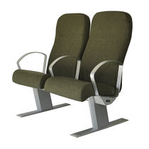 Passenger ship seat / for boats / with armrests / high-back