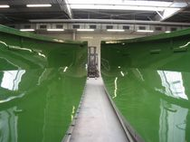 Large custom mold / for composites / shipyard