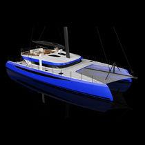Carbon sailboat / catamaran / cruising / cruising-racing