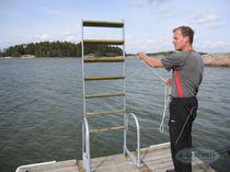 Swim ladder / for docks / lifting / immersed