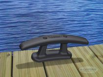 Double mooring cleat / for docks / aluminum