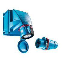 Dock watertight electrical plug