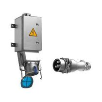 Dock watertight electrical plug / high-current