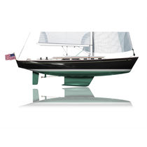 Cruising sailboat / classic / custom