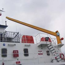Boom crane / for ships / deck