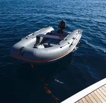 Outboard inflatable boat / semi-rigid / foldable / 3-person
