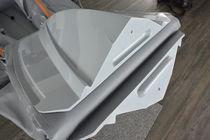 Outboard inflatable boat / semi-rigid / foldable / 5-person max.