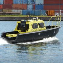 Inboard waterjet crew boat