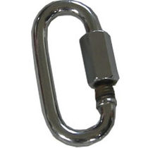 Snap shackle with screw lock / multi-purpose