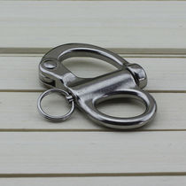 Sailboat snap shackle with fork / standard / halyard