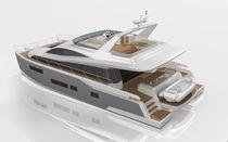 Cruising motor yacht / flybridge / 4-cabin