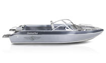 Outboard runabout / dual-console / aluminum / classic