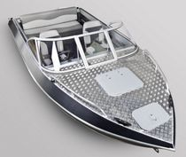Outboard runabout / dual-console / classic / 5-person max.
