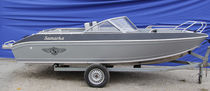 Outboard runabout / bowrider / aluminum / 5-person max.