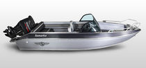 Outboard runabout / dual-console / bowrider / 6-person max.