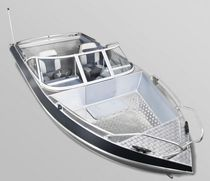 Outboard runabout / bowrider / sport-fishing / 5-person max.