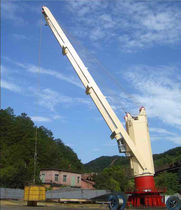Ship crane / for heavy loads / deck