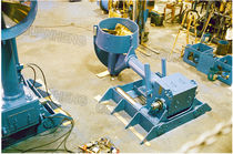 Azimuth thruster / for yachts / hydraulic