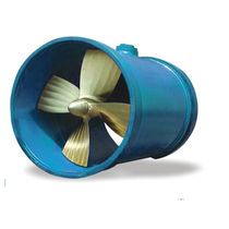 Bow thruster / azimuth / for ships / tunnel type