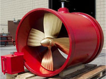 Ship thruster / controllable-pitch propeller / tunnel type