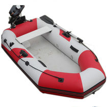 Outboard rescue boat / rigid hull inflatable boat / aluminum