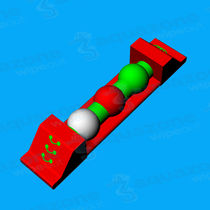 Mattress water toy / buoy / balance beam / long jump