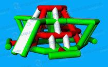 Slide water toy / climbing-wall / bridge / island