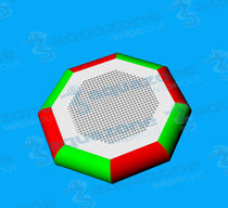 Trampoline water toy / floating / inflatable