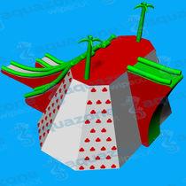 Slide water toy / platform / climbing-wall / sled